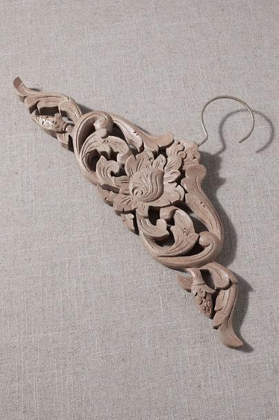 View larger image of Carved Wooden Hanger