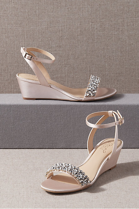 Jewel Badgley Mischka Bertie Wedges