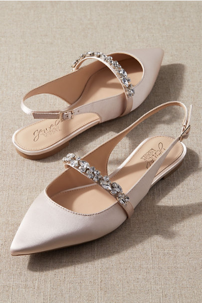 View larger image of Badgley Mischka Soir Flats
