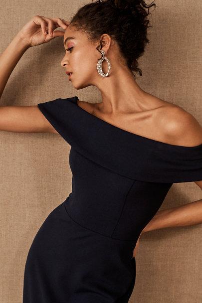 View larger image of Delice Off-the-Shoulder Crepe Dress