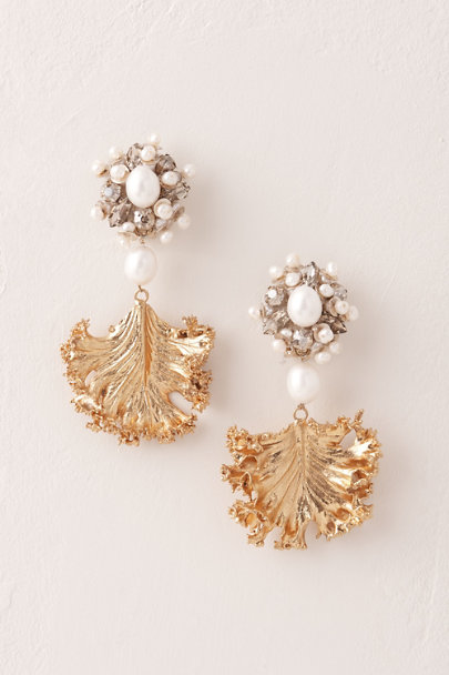 View larger image of Golden Frond Earrings