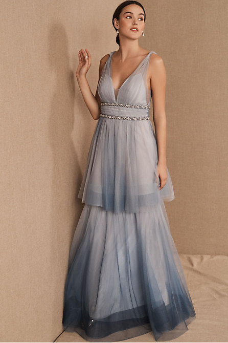 Marchesa Notte Weaver Dress