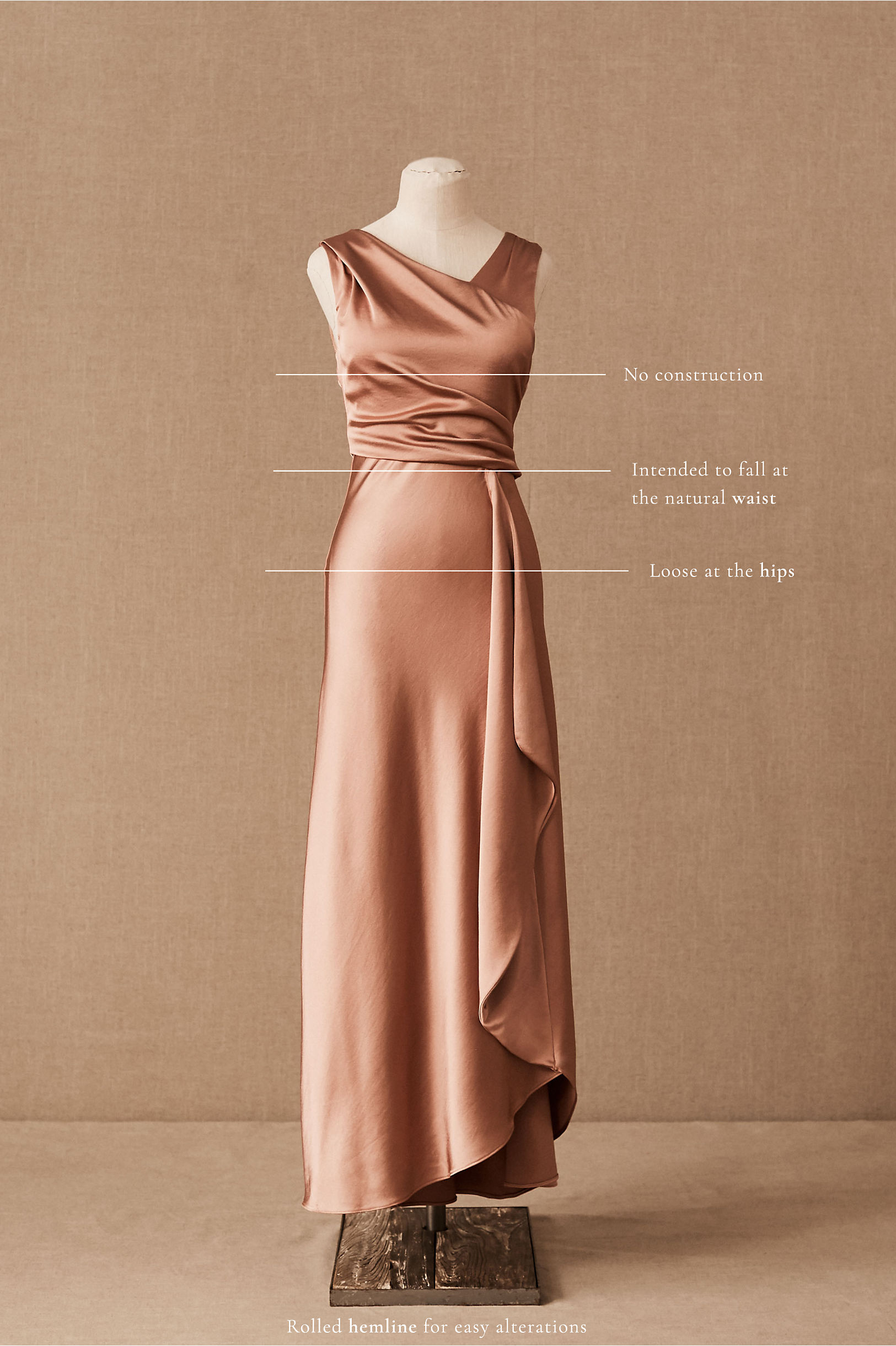 1930s Evening Dresses | Old Hollywood Silver Screen Dresses BHLDN Espen Dress  AT vintagedancer.com