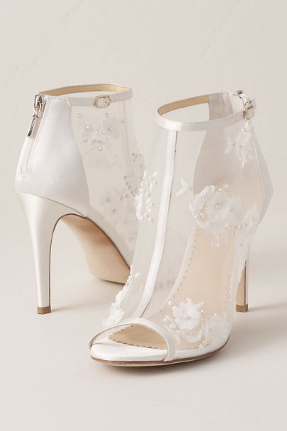 View larger image of Bella Belle Floral Chiffon Bootie