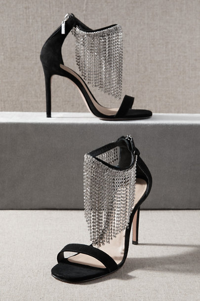 View larger image of Schutz Lory Crystal Fringe Heels