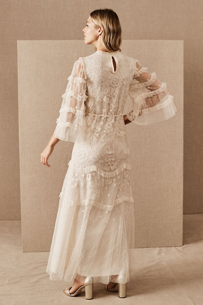 View larger image of Needle & Thread Patchwork Lace Dress