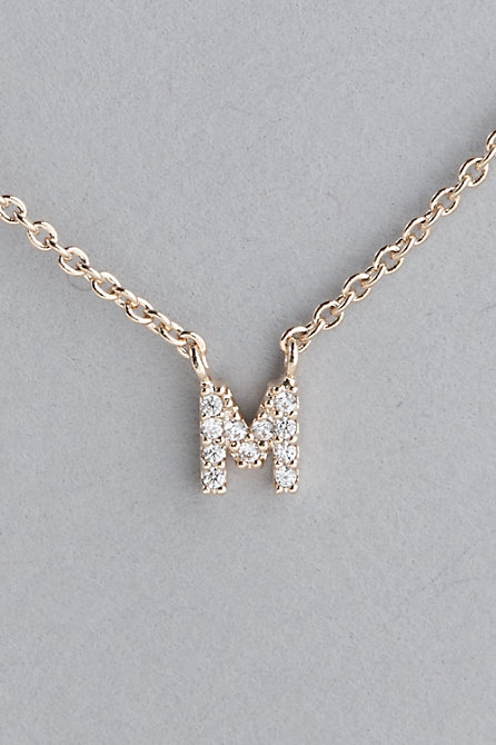 Dainty Monogram Necklace