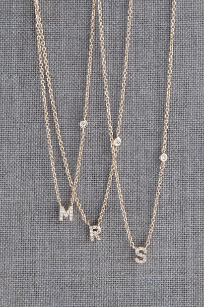 View larger image of Dainty Monogram Necklace
