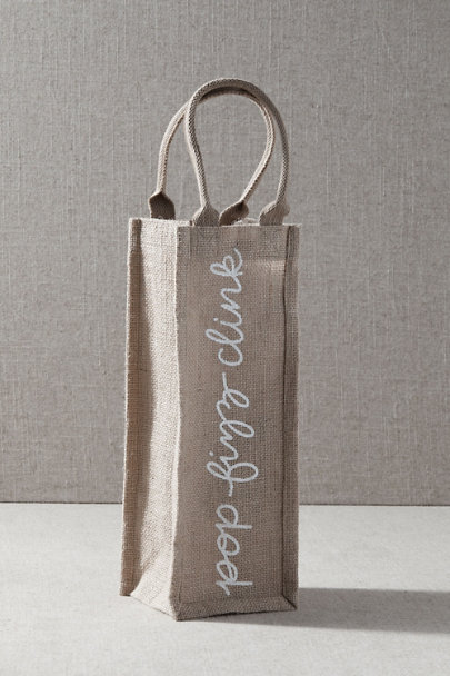 View larger image of Jute Wine Bag