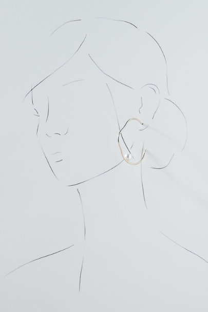 View larger image of Jem Hoop Earrings