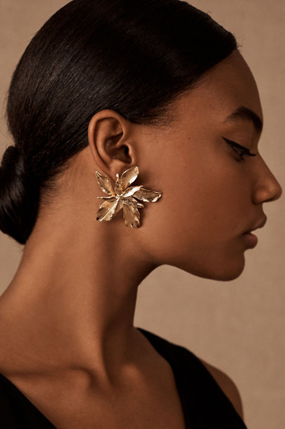 View larger image of Bonita Flower Earrings