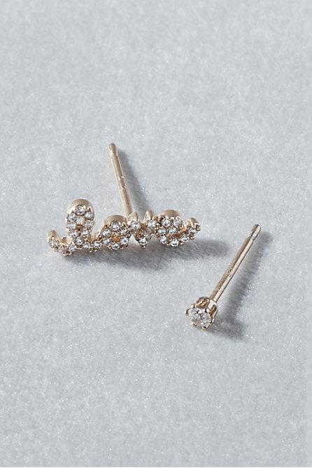 Love Post Earrings