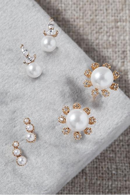 Deryn Pearl Earring Pack
