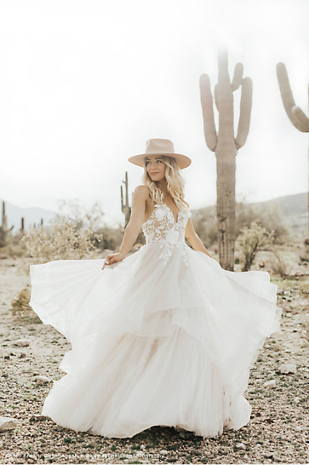 Wtoo by Watters Valera Gown