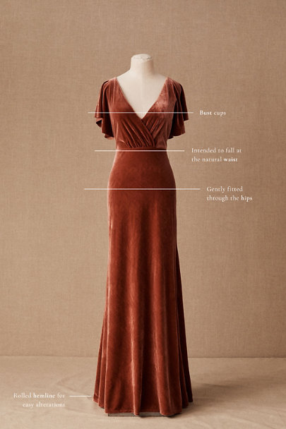 View larger image of Jenny Yoo Ellis Velvet Dress