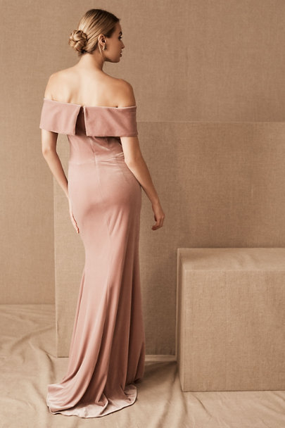 View larger image of BHLDN Fawn Velvet Dress