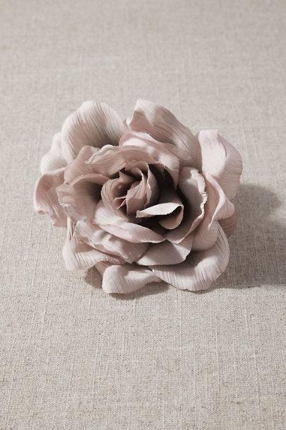 View larger image of Mauve Floral Clip