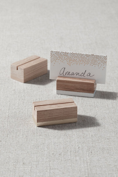 View larger image of Beech Place Card Holders (6)