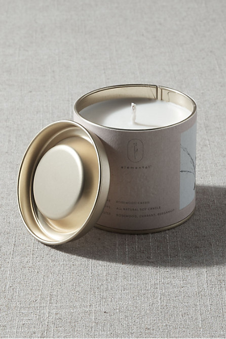Elemental Tin Candle