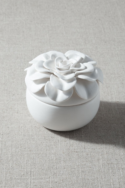 View larger image of Ceramic Flower Candle
