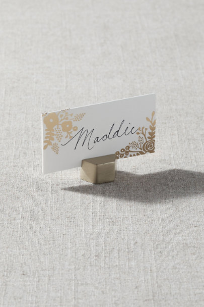 View larger image of Hexagon Place Card Holder