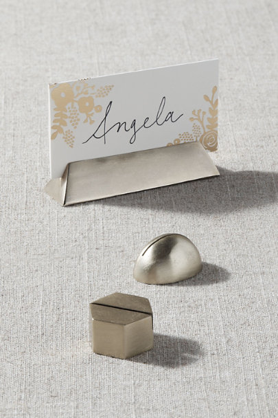View larger image of Triangle Place Card Holder