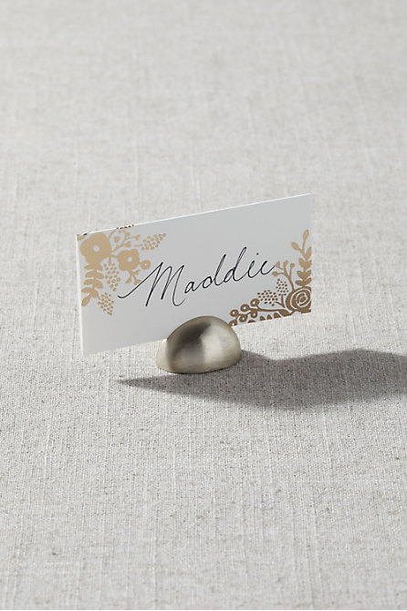Oval Place Card Holder