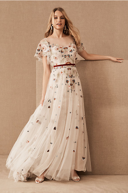 Bohemian Boho Wedding Dresses Bhldn