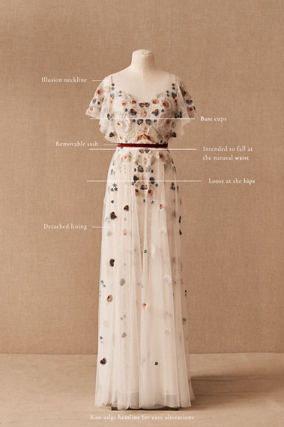View larger image of Willowby by Watters Heartleaf Gown