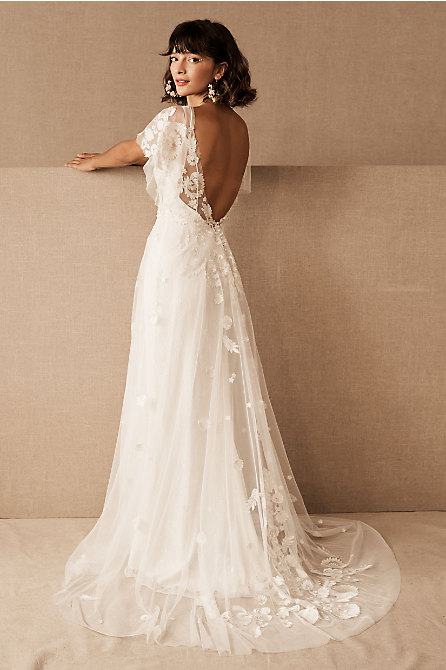 Willowby by Watters Heartleaf Gown