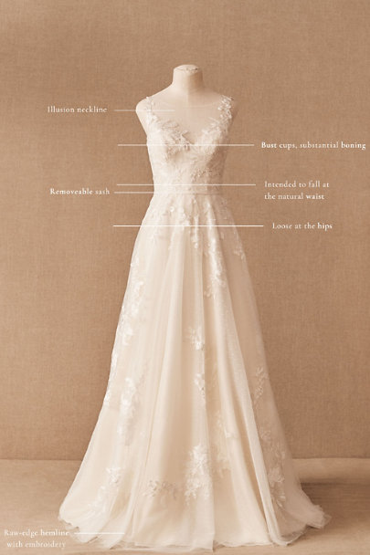 View larger image of BHLDN Marceline Gown