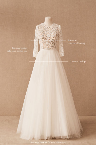 View larger image of Watters Brides Frederique Gown