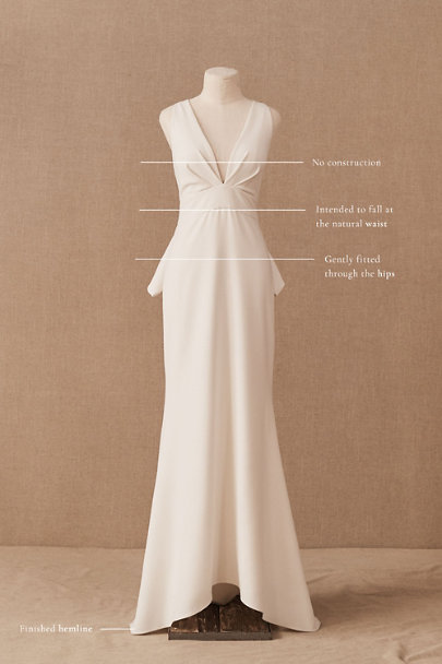 View larger image of Sachin & Babi Branwell Gown