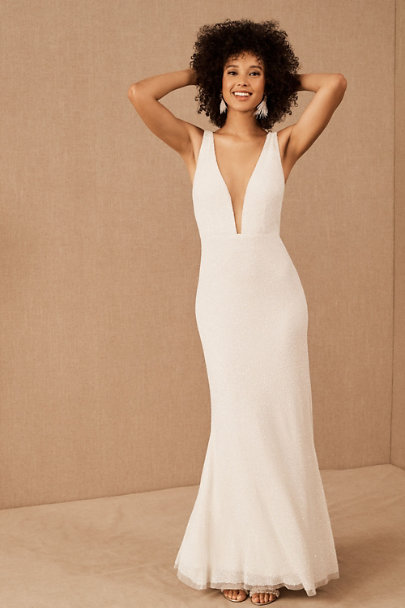 View larger image of BHLDN Everest Gown