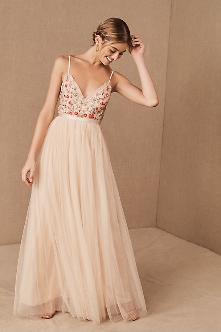 Needle & Thread Butterfly Meadow Maxi Dress