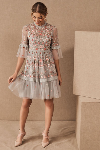 View larger image of Needle & Thread Butterfly Meadow Mini Dress