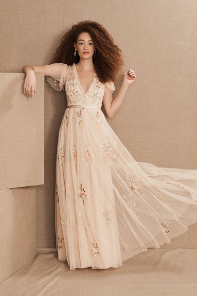 View larger image of Needle & Thread Petunia Maxi Dress