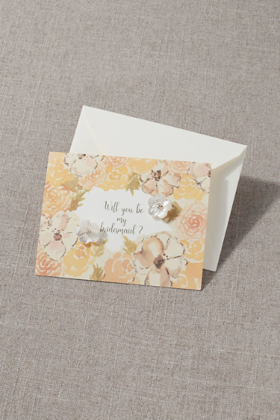 View larger image of Bridesmaid Earring Card