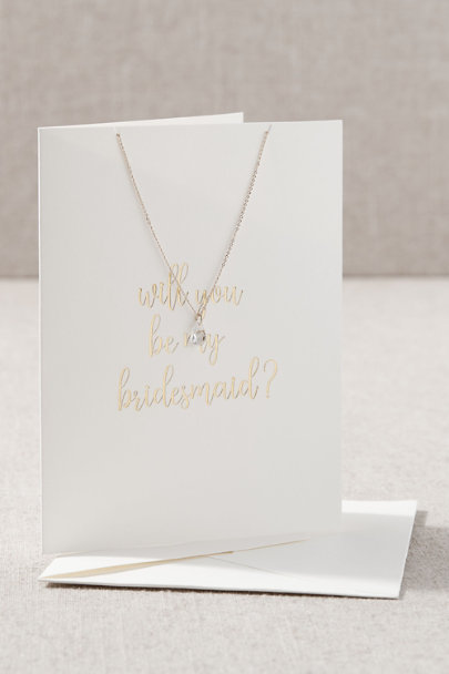 View larger image of Bridesmaid Necklace Card