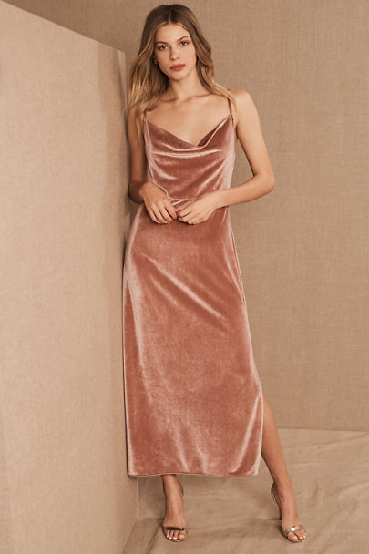 View larger image of BHLDN Nasha Velvet Dress