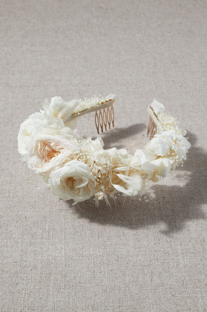 View larger image of Allora Preserved Flower Crown