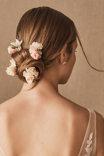 View larger image of Romy Preserved Flower Hair Pins