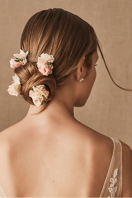 Romy Preserved Flower Hair Pins