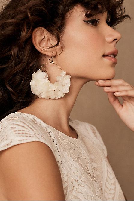 Paradis Preserved Flower Earrings
