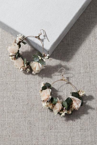 View larger image of Cassatt Preserved Flower Earrings
