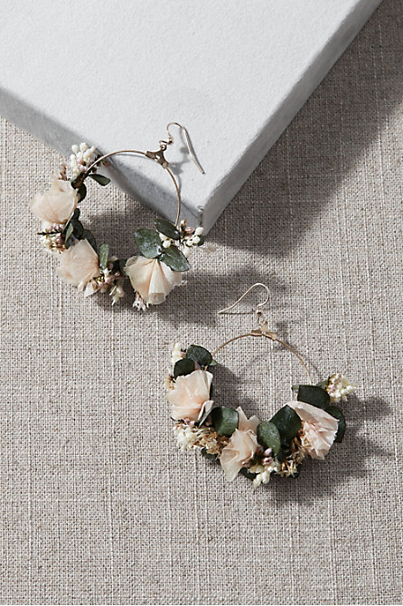 Cassatt Preserved Flower Earrings
