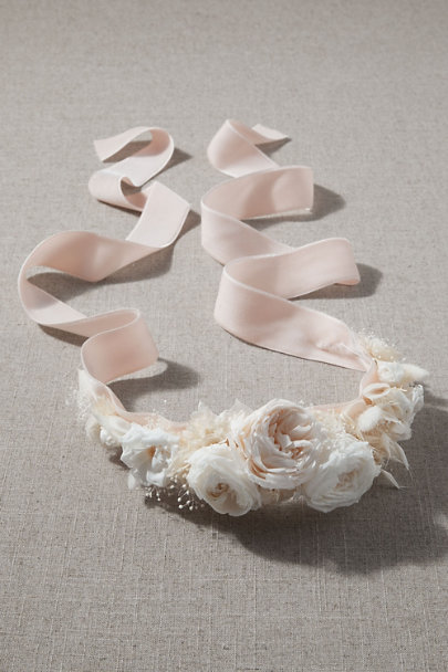 View larger image of Riversong Preserved Flower Sash