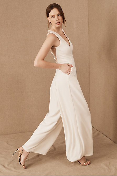Amsale Galway Jumpsuit