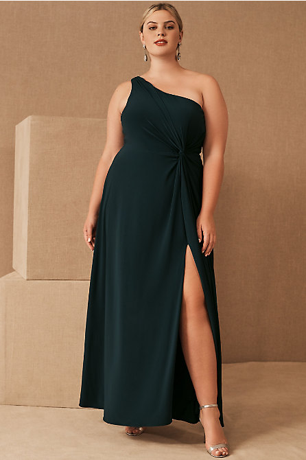 Brixen One-Shoulder Maxi Dress