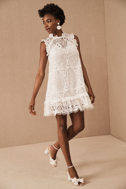 View larger image of ML Monique Lhuillier Lambeth Eyelet Lace Dress